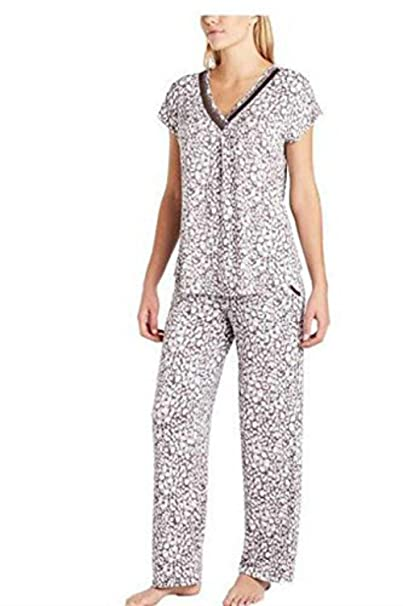 8d8e3796f8 Image Unavailable. Image not available for. Color  Carole Hochman Midnight  Ladies 2-Piece Modal Pajama Set