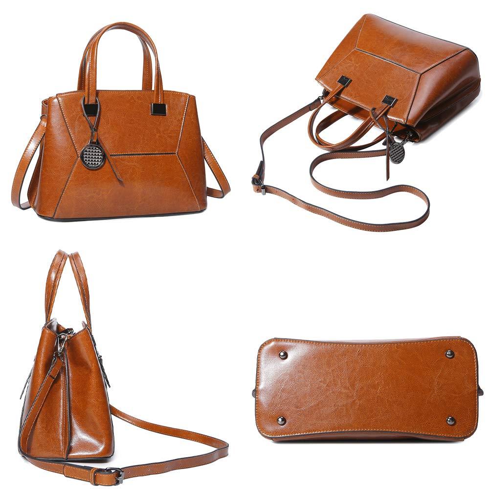 Coolives dam väska liten handväska axelväska axelväska av läder enkel, - svart - One size GRÅ