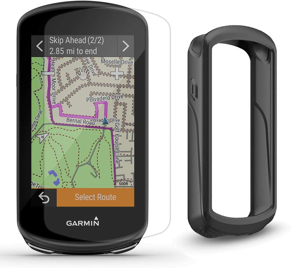 Black Silicone Case Cover For Garmin Edge 1030 PLUS GPS Cycling Computer Parts