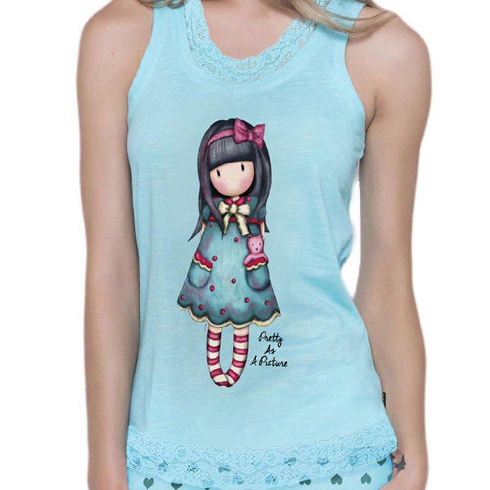 Gorjuss Pijama Mujer Verano Tirantes - Pretty As A Picture: Amazon.es: Ropa y accesorios