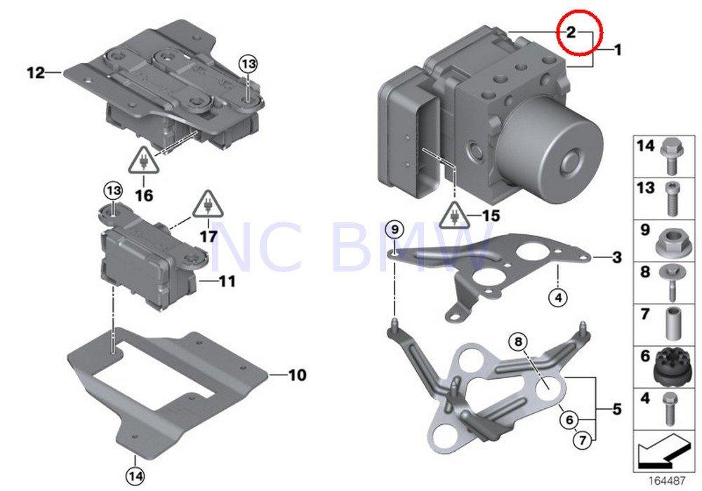 BMW Genuine Control Unit Dsc Repair Kit