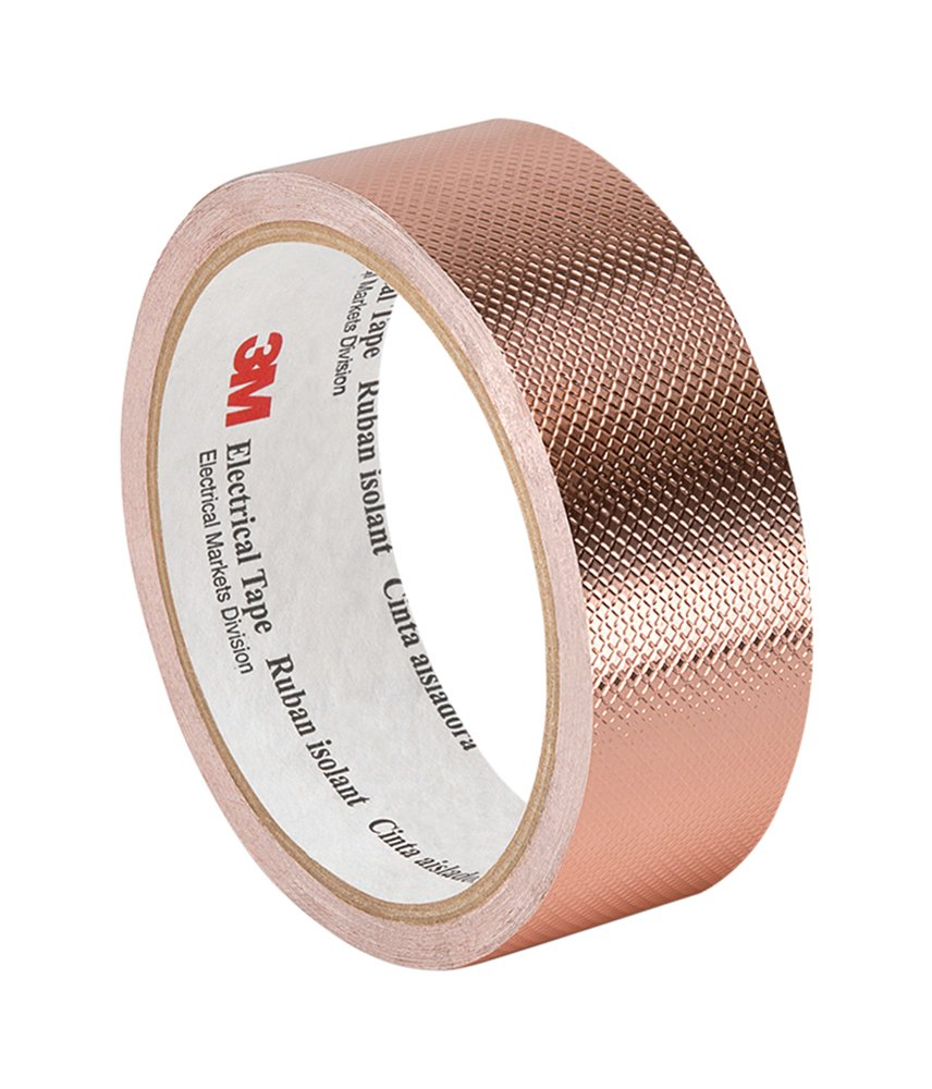 Cinta de Cobre 50mm x 16.5mt Adhesivo Conductor 3M