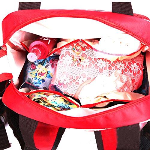 De Main À Sac Rouge Femme Marron Dos Maxi Dots Ruby Mini Gaorui Voyage n0wfqYTq