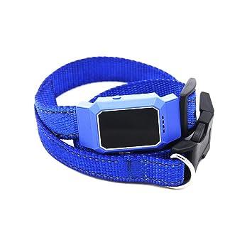 Remaxm - Collar localizador de Mascotas con GPS Resistente al Agua, posicionamiento antipérdida, Mini para rastreo de Perros y Gatos: Amazon.es: Hogar