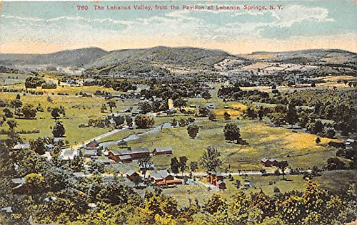 The Lebanon Valley from the Pavilion Lebanon Springs, New York, NY, USA - Lebanon Springs