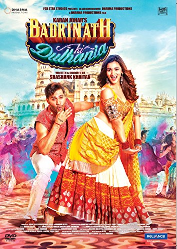 Badrinath Ki Dulhania (Brand New Single Disc Dvd, Hindi Language, With English Subtitles, Released By Reliance)