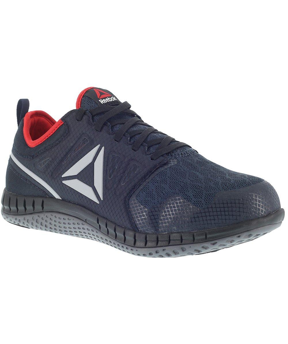 Reebok Work Men's Zprint Work Athletic Oxford B073ZJXYMF 13 E US|Navy/Red/Grey