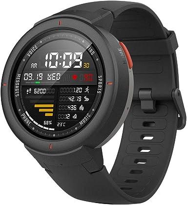 Amazfit Stratos - Multisport Smartwatch, Bisel de cerámica pulida ...