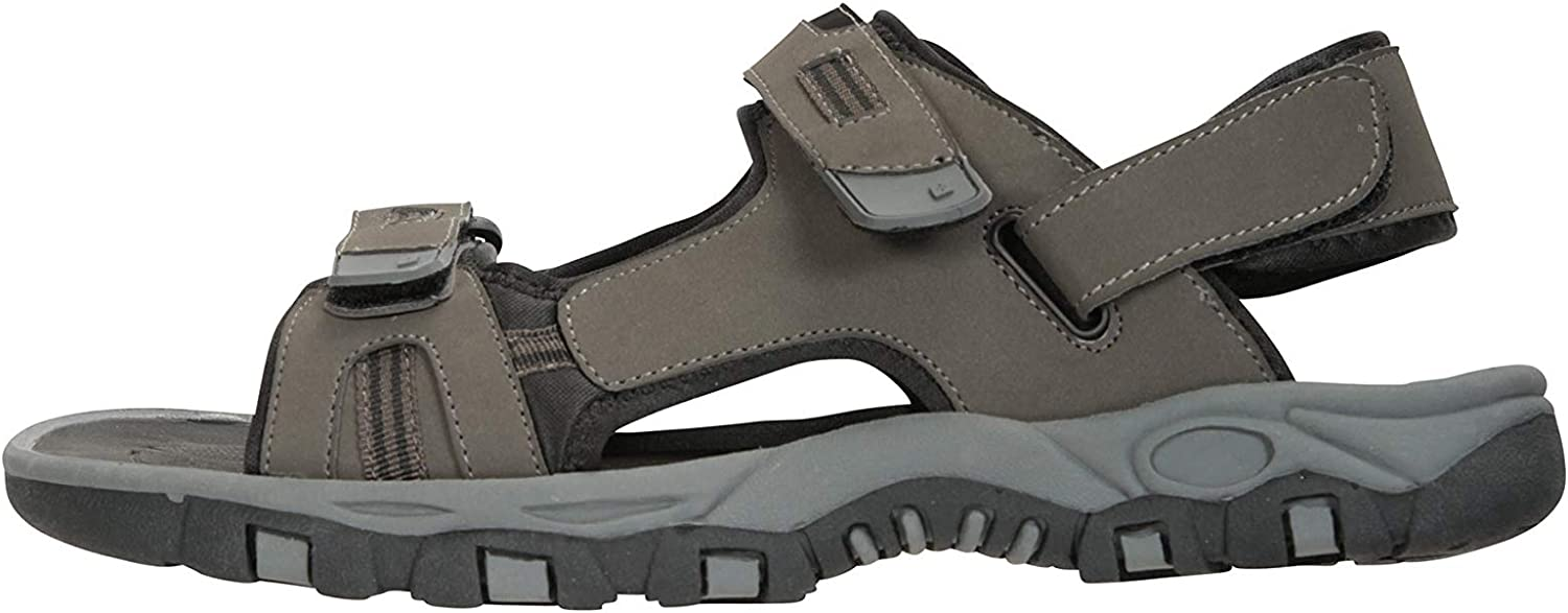 Suede Upper for Spring Travelling Phylon Midsole Beach Shoes Hook /& Loop Strap Walking Mountain Warehouse Z4 Mens Sandals Neoprene Lining Summer Shoes