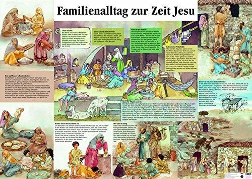 Familienalltag zur Zeit Jesu: Plakat