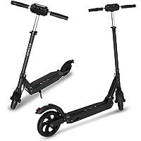 Elektro Scooter City Elektroscooter mit 30 Km/h Geschwindigkeit und 30 Km Reichweite, Faltbarer E-Scooter mit LCD-Anzeige, Li-Ion Akku, City E Roller Erwachsene und Kinder