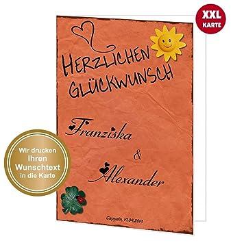 Geburtstag mit Umschlag Große XXL Glückwunsch-Karte zum 95 DIN A4