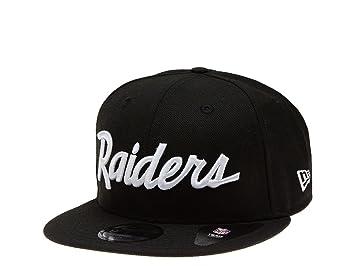 A NEW ERA ERA - Gorra de Oakland Raiders - Hist Negro Históricos - NFL  Tapa  Amazon.es  Deportes y aire libre 932e04e9436