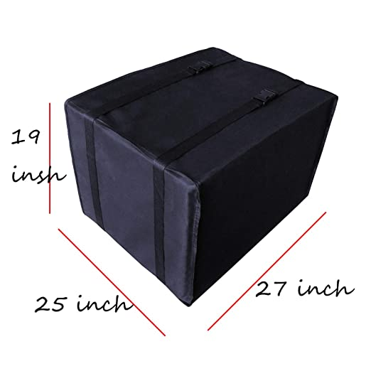 JIANZHENKEJI Window Seal Window Air Conditioner Cover 17x13x12 inches Winter Window A//C Unit Cover for Outside AC Units Seal