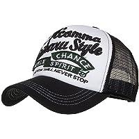 Topgrowth Cappellino Estivo Ricamato Cappelli a Rete per Uomo Donna Traspirante Cappello Casuali Hip Hop Hat da Baseball
