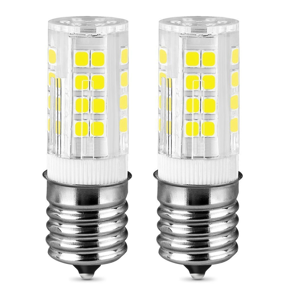 E17 Led Bulb, Intermediate Base Led Bulb Appliance Bulb Dimmable 4W  Daylight White 6000K, Low Power Consumption, Long Lifespan,450LM,AC110-130V  for