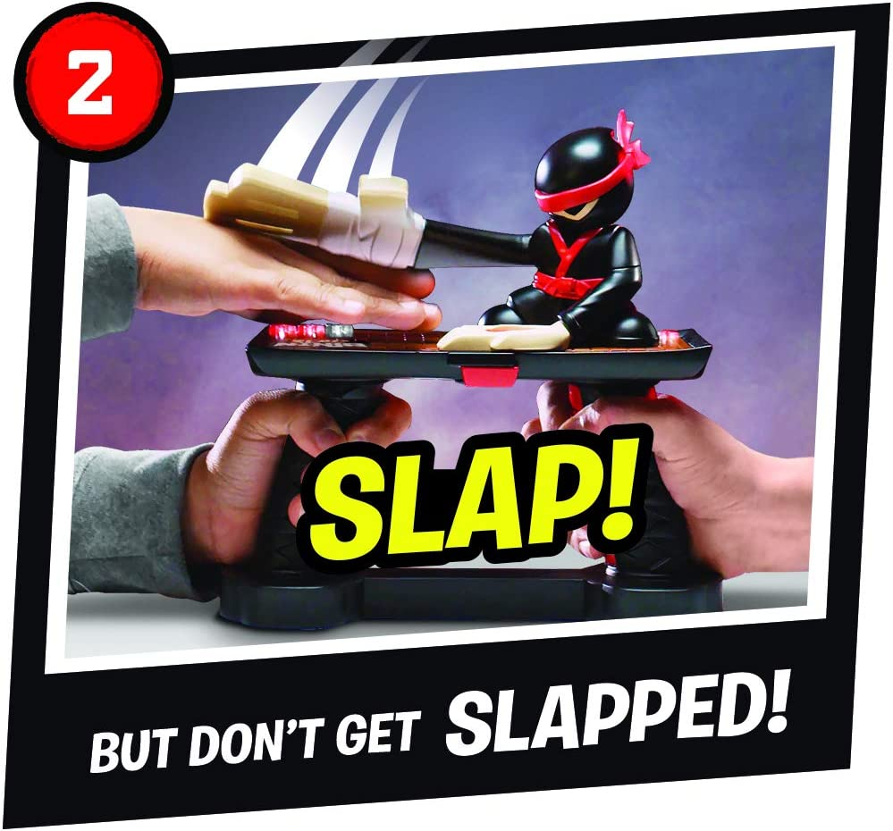 Jakks 151034 Slap Ninja - Juguete para 2 Jugadores (Prueba los Reflejos y la Capacidad de reacción, Apto para niños a Partir de 4 años): Amazon.es: Juguetes y juegos