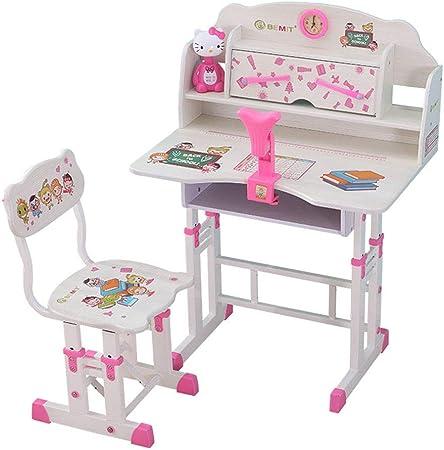 Juegos de mesas y sillas Estudio de estudio para niños escritorio para niños combinación de libros