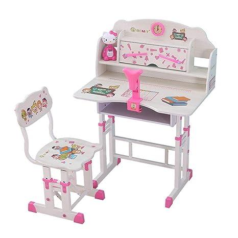 Juegos de mesas y sillas Estudio de estudio para niños escritorio ...