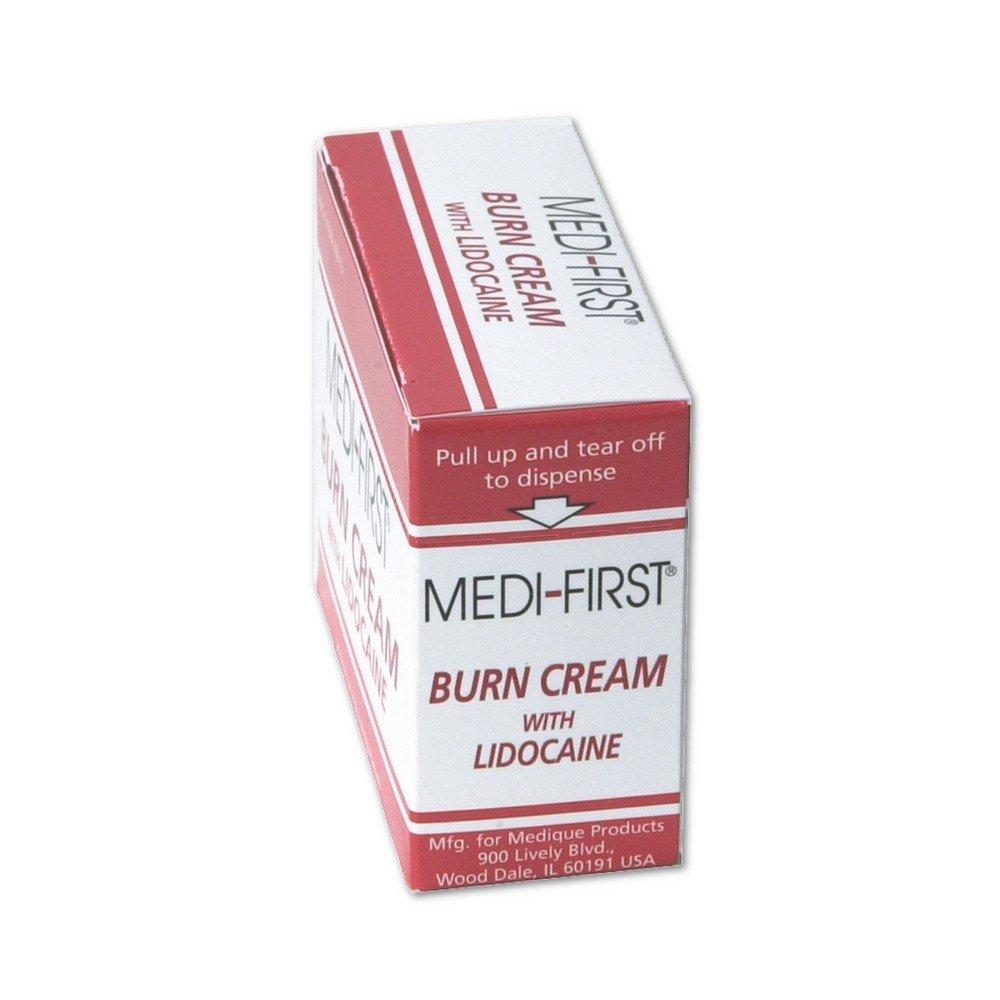 Medique MP47769 Medi-First Burn Cream, 0.9 g, Red/White (Pack of 6)