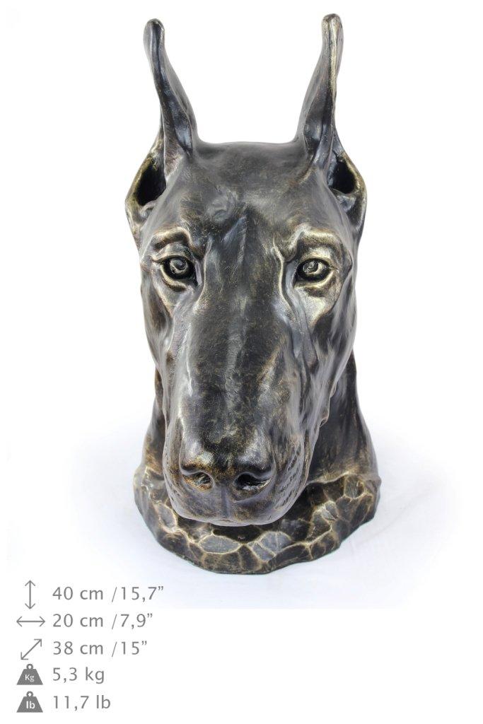 Doberman, Hund, Resin, Harz, Kopf, Limiterte Edition, Edition, Edition, Art Dog c036bb