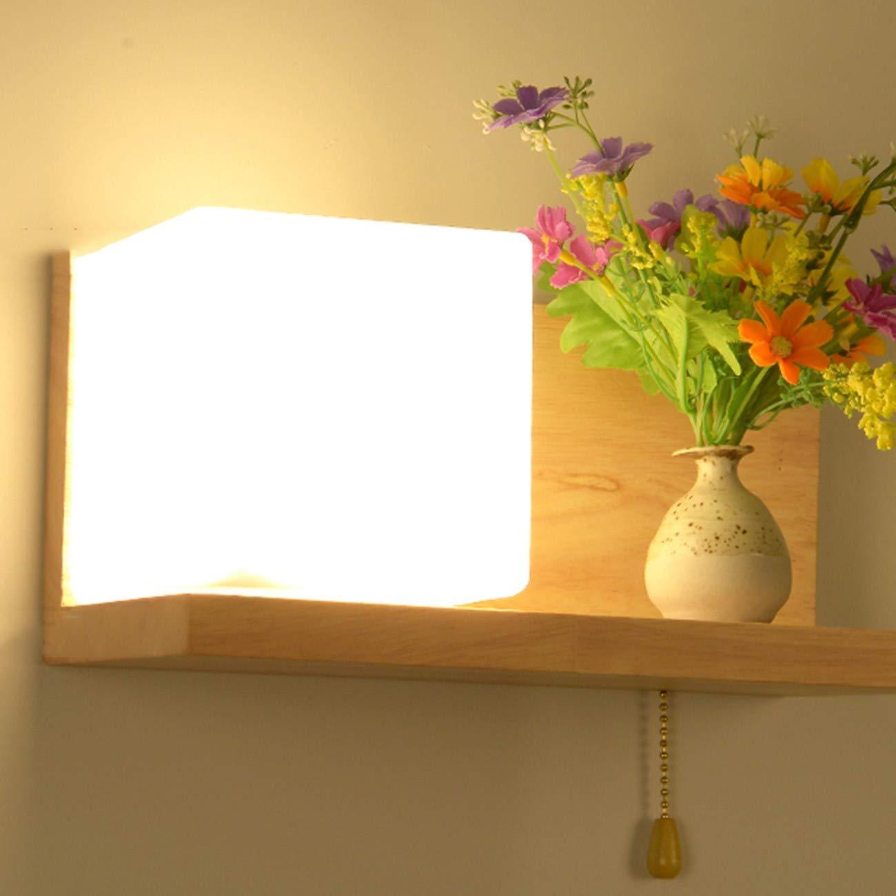Wandleuchte Wall Lamp, Schlafzimmer Mit Lampe, Indoor - Gang, Super Intelligent Und Klug,F