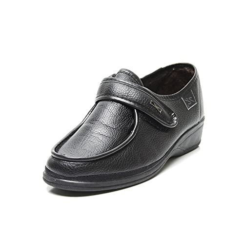 Doctor Cutillas 780 - Zapato Ortopédico Velcro Negro mujer, color negro, talla 37
