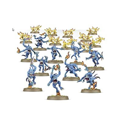 "Games Workshop 99129915029"" Warhammer Age of Sigmar Blue and Brimstone Horrors Action Figure: Toys & Games"