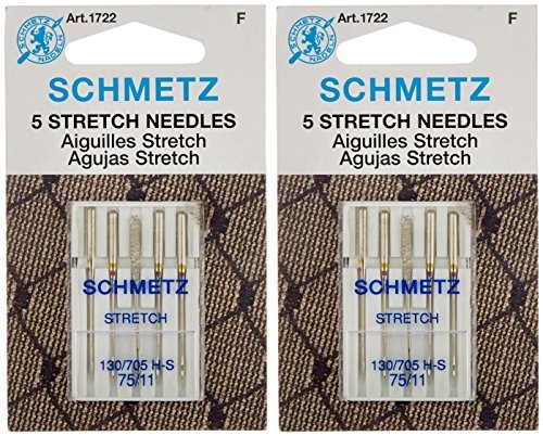 - Stretch Machine Needles-Size 75/11 5/Pkg (2 packs)