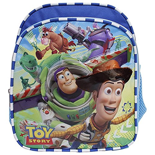 0fe1418f06f Image Unavailable. Image not available for. Color  Disney Toy Story New  Light Blue Toddler 10 quot  Backpack- Buzz Lightyear   Woody. Ruz