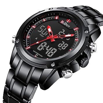 SW Watches Biden Relojes LED Digitales Hombres Deporte Militar Reloj Relojes De Pulsera Electrónicos De Lujo De La Marca De Fábrica Superior Masculina: ...