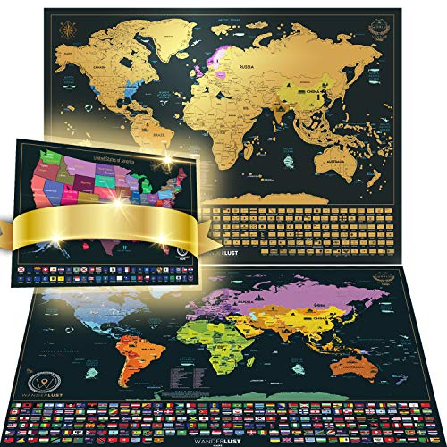 Scratch Off World Map Premium product image