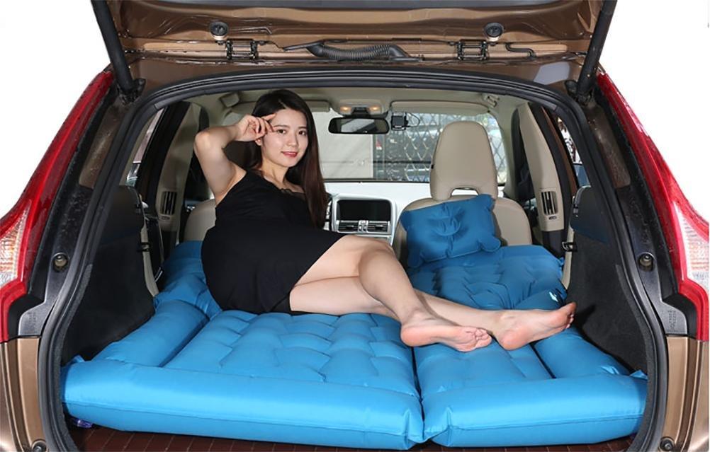 Lameila Auto outdoor-Reisen Bett Luftmatratze Matratze hinten SUV-Auto,4/6 geteilte Luftbett aufblasbare Matratze