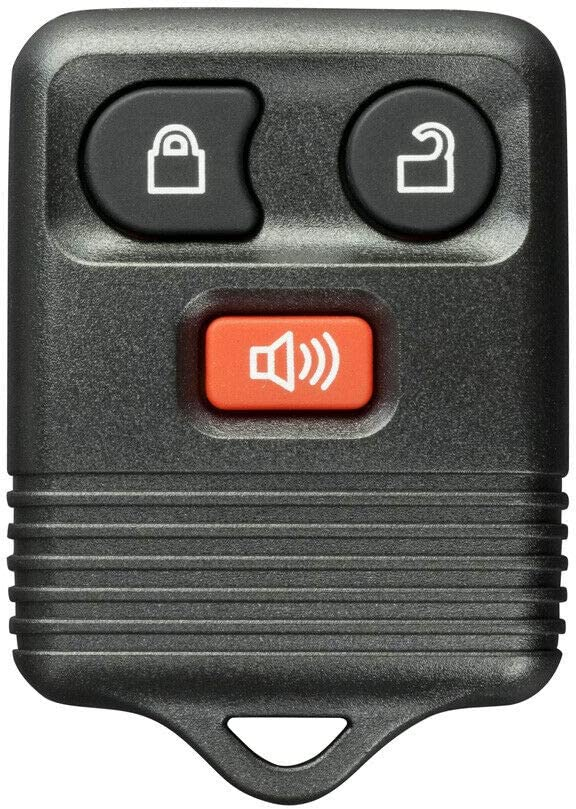FikeyPro Keyless Entry Remote Control Car Key Fob fits Ford Lincoln Mercury 3-Button CWTWB1U212