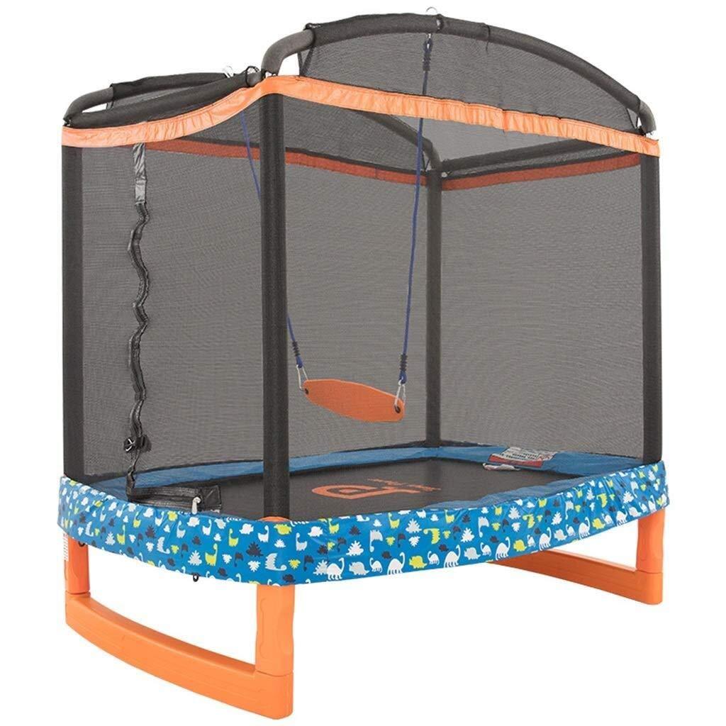 LQQGXL 屋外一次トランポリン アクティブで簡単に組み立てられる子供の10代の屋内と屋外のトランポリンのトランポリン子供 子供用スポーツ用品