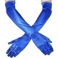 Msrlassn Vrouwen Avond Party Handschoenen Lange Satijn Handschoenen voor Vrouwen Formele Bruiloft Bruids Handschoenen…