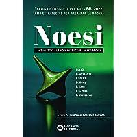 Noesi. Textos de filosofia per a les PAU 2022: Novetat