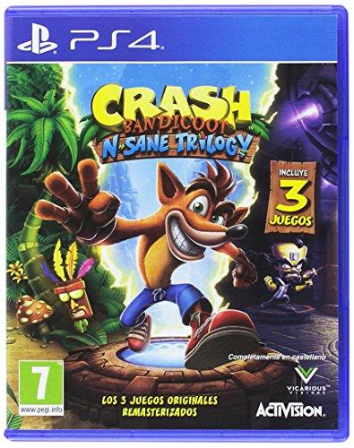 Crash Bandicoot N Sane Trilogy Playstation 4 Amazon Es Videojuegos
