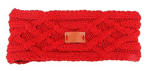 Aran Traditions - Cinta para el pelo - para mujer rojo Ruby Talla única