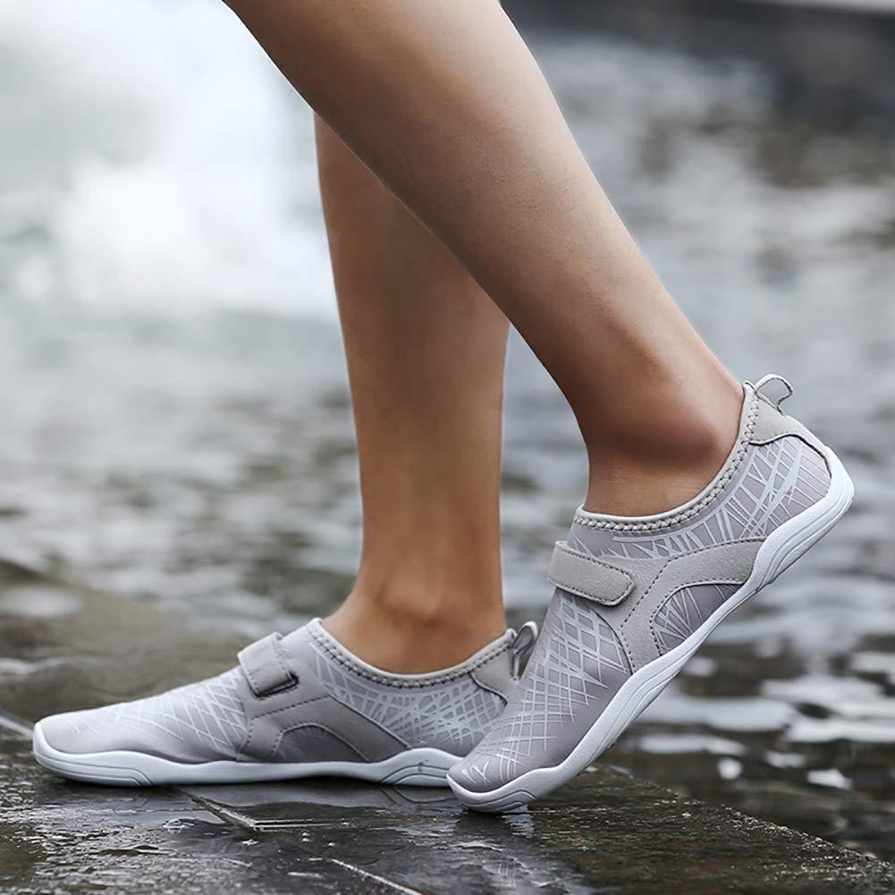 JINGJING Water Shoes Quick Dry Barefoot Beach Swim Surf Yoga Exercise Shoes for Men Women