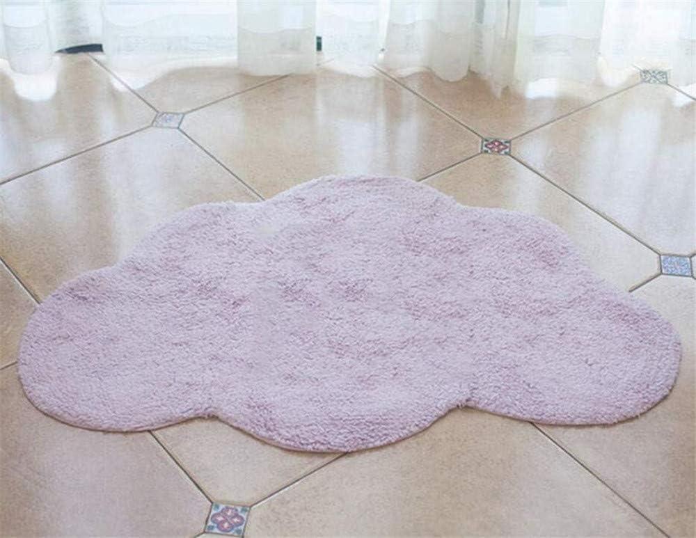 Hava Kolari Kinderzimmer Baumwolle Kinderteppich und Jugendzimmer Teppich Kinderzimmerteppich Wolkenform Grau