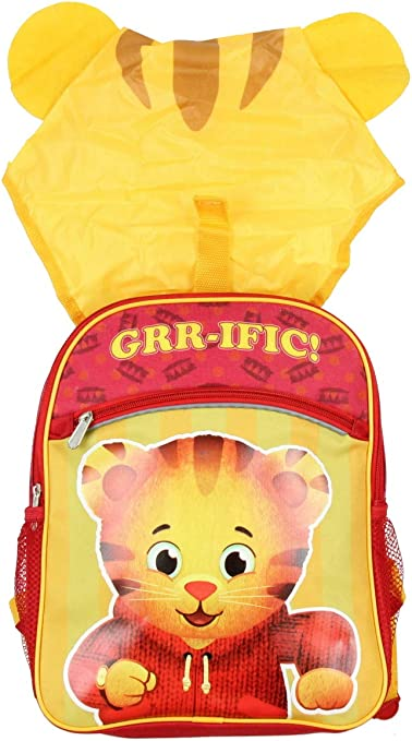 Mochilas Impermeables con capucha para niños - Daniel Tigers