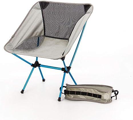 Silla Plegable Camping, Asiento Portátil Silla De Pesca ...