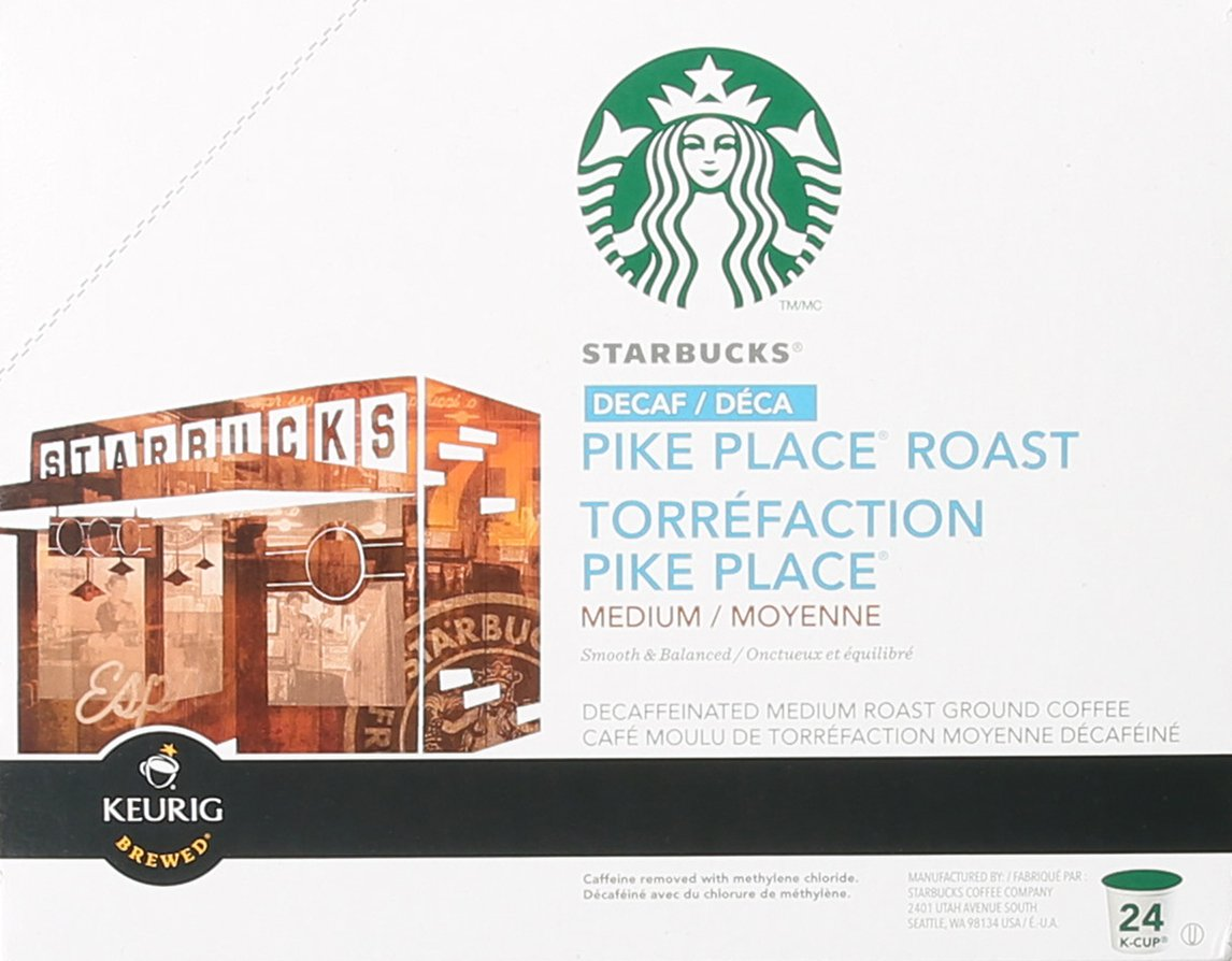 Starbucks Decaf Pike Place Roast K Cups, 24 Count (Pack of 2) by Starbucks (Image #3)