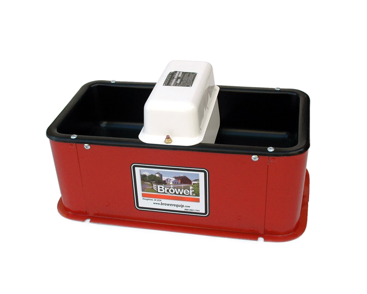 Brower MC32HE Super Insulated Electric Heated Double Drink Horse Waterer by Brower