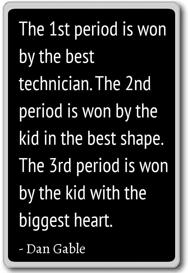 El primer período es ganado por el mejor técnico. La... - Dan ...