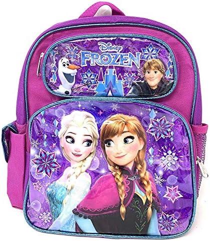 "Disney Princess Frozen Anna & Elsa 12\"" Small Toddler Backpack"
