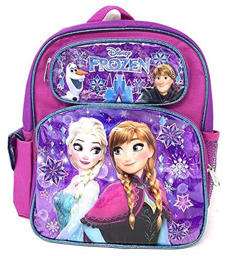 "Disney Princess Frozen Anna & Elsa 12"" Small Toddler Backpack"