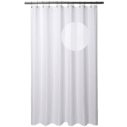 Barossa Design Extra Long Shower Curtain Fabric With 84 Inch Height