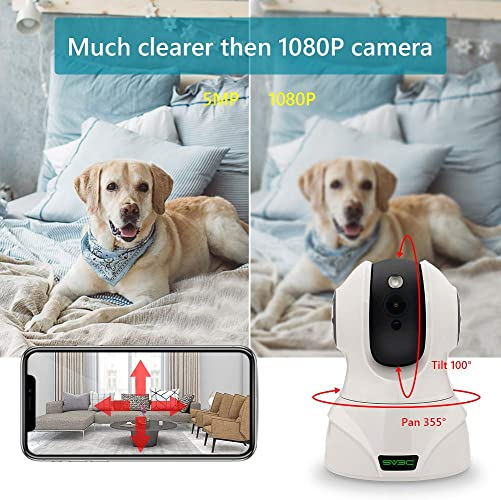 5MP Nanny Pet IP Camera Indoor